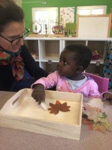 accueil des tout-petits au jardin d'enfants