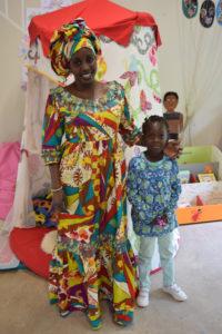 Faguèye en visite de Dakar à La Maison