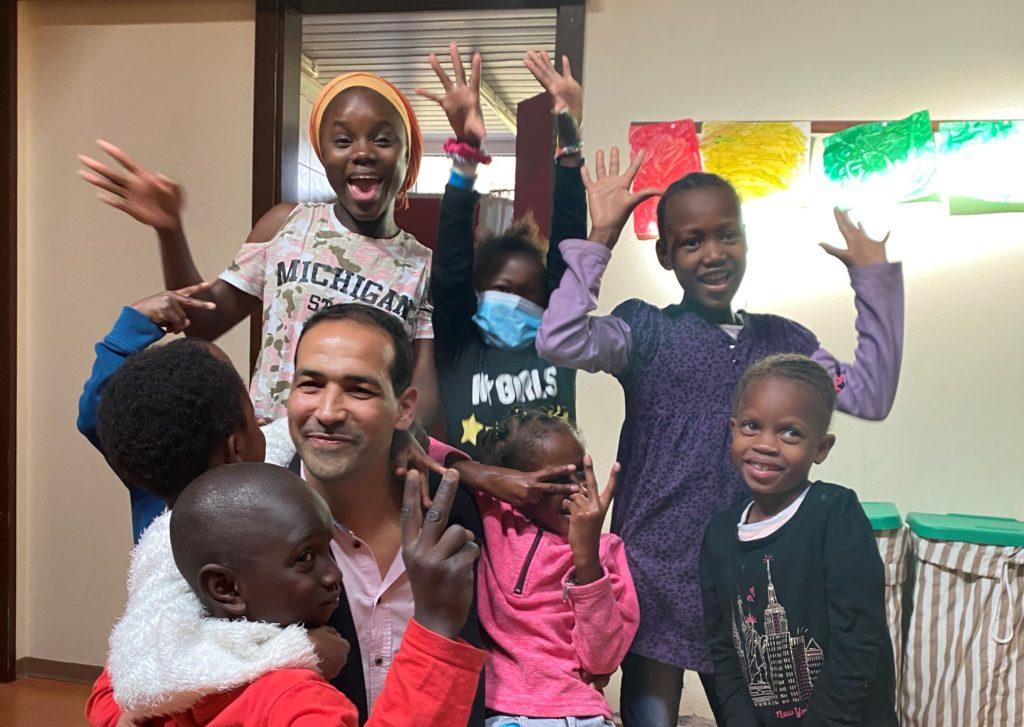 Ismail et les enfants de La Maison